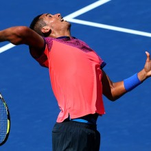 Nick Kyrgios, 2014. GETTY IMAGES