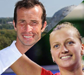 Radek Stepanek and Petra Kvitova, Czech Republic. GETTY IMAGES