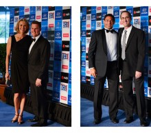 Alicia Molik, Tim Sullivan, Roger Rasheed and Darren Cahill, Hyundai Hopman Cup 2013 New Year's Eve Ball, Grand Ballroom Crown Perth. JODY D'ARCY