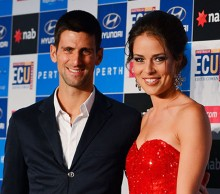 Novak Djokovic and Ana Ivanovic, Hyundai Hopman Cup 2013 New Year's Eve Ball, Grand Ballroom Crown Perth. JODY D'ARCY