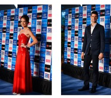 Serbia: Ana Ivanovic and Novak Djokovic, Hyundai Hopman Cup 2013 New Year's Eve Ball, Grand Ballroom Crown Perth. JODY D'ARCY
