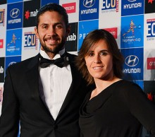 Spain: Fernando Verdasco and Anabel Medina Garrigues, Hyundai Hopman Cup 2013 New Year's Eve Ball, Grand Ballroom Crown Perth. JODY D'ARCY