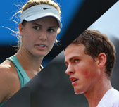 Canada - Eugenie Bouchard and Vasek Pospisil