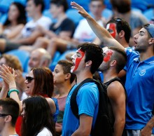 Italian fans show their support. Italy. 2014. GETTY IMAGES