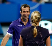 Radek Stepanek and Petra Kvitova. Czech Republic. GETTY IMAGES