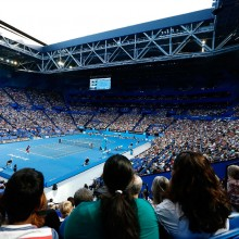 Hopman Cup 2014 final. Poland. 2014. GETTY IMAGES