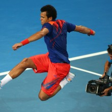 Jo-Wilfried Tsonga. France. 2014. GETTY IMAGES
