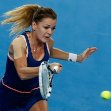 Agnieszka Radwanska. Poland. 2014 .GETTY IMAGES