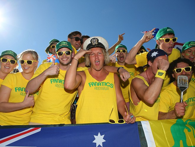 The Fanatics, 2014. GETTY IMAGES