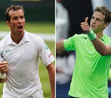 Radek Stepanek (L) and Vasek Pospisil; Getty Images
