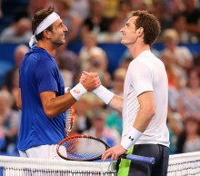 Marinko Matosevic and Andy Murray finish with a smile; Getty Images