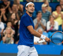 Marinko Matosevic is enjoying his time at the Hopman Cup; Annaliese Frank, Raw Images