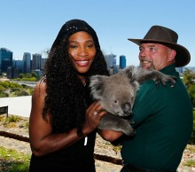 Serena Williams at Kings Park and Royal Botanical Garden in Perth.