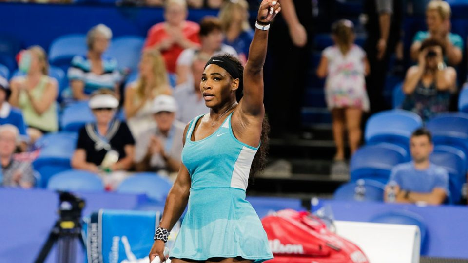 Serena Williams survives a scare at the Hopman Cup; Annaliese Frank