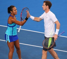 Heather Watson and Andy Murray compete for Great Britain; Getty Images