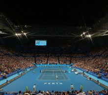 A stunning atmosphere as Team Great Britain take on Team Australia; Getty Images