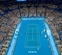 A general view of Hopman Cup 2015.