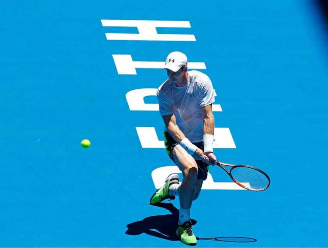 Andy Murray at Hopman Cup 2015; Getty Images