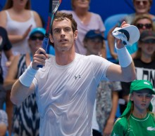 Andy Murray at the Hopman Cup; Getty Images