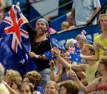 Fans at Perth Arena; Getty Images