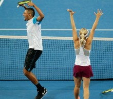 Daria Gavrilova and Nick Kyrgios; Getty Images