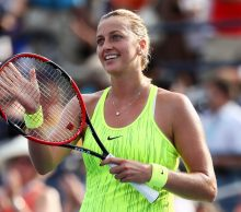 NEW YORK, NY - SEPTEMBER 02:  Petra Kvitova of the Czech Republic celebrates her win over Elina Svitolina of the Ukraine during her third round Women's Singles match on Day Five of the 2016 US Open at the USTA Billie Jean King National Tennis Center on September 2, 2016 in the Flushing neighborhood of the Queens borough of New York City.  (Photo by Al Bello/Getty Images)