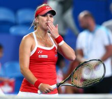 Belinda Bencic at Mastercard Hopman Cup; Getty Images