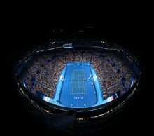The view at Perth Arena during Mastercard Hopman Cup; Getty Images