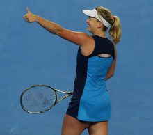 Coco Vandeweghe at Mastercard Hopman Cup; Getty Images