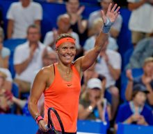 Lucie Hradecka at Mastercard Hopman Cup; Getty Images
