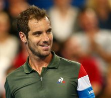 Richard Gasquet at Mastercard Hopman Cup; Getty Images