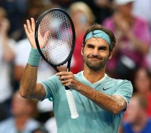 Roger Federer at Mastercard Hopman Cup; Getty Images