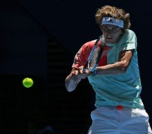 Alexander Zverev at Mastercard Hopman Cup; Getty Images