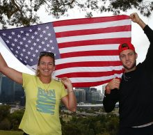 eam USA., CoCo Vandeweghe and Jack Sock, at Kings Park; Getty Images