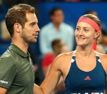 RIchard Gasquet and Kristina Mladenovic at Mastercard Hopman Cup; Getty Images