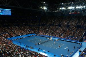 14,008 fans marked the largest crowd for a Hopman Cup final; Getty Images