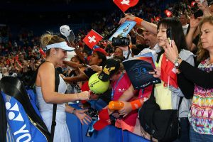 The 20-year-old Bencic is proving a favourite with Perth fans; Getty Images