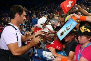 Federer thrilled the fans with another win; Getty Images