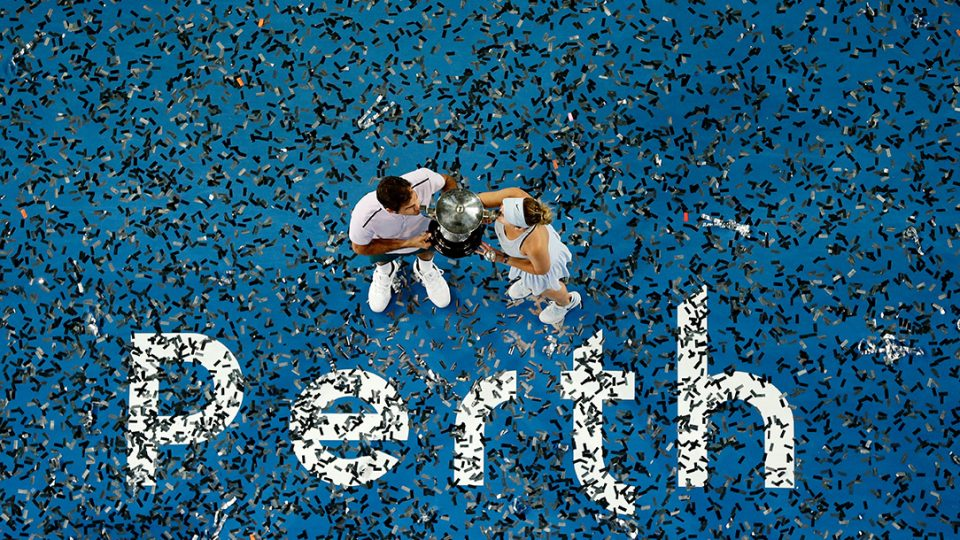 Welcoming a record 106,424 fans in total, three 2018 sessions marked the highest-ever attendances at Mastercard Hopman Cup; Getty Images