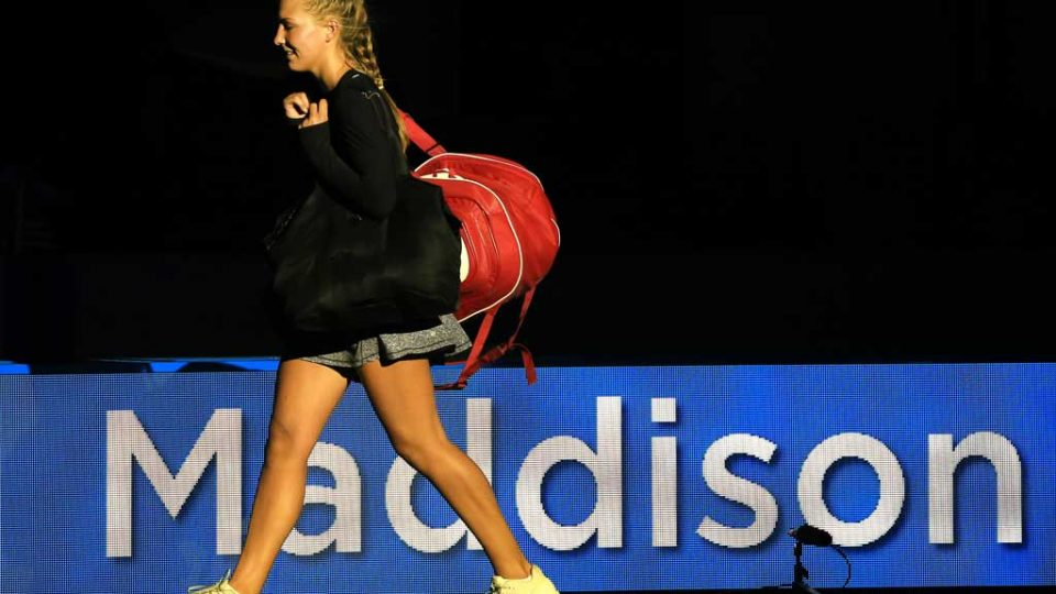 Maddison Inglis gains valuable experience at Mastercard Hopman Cup; SMP Images