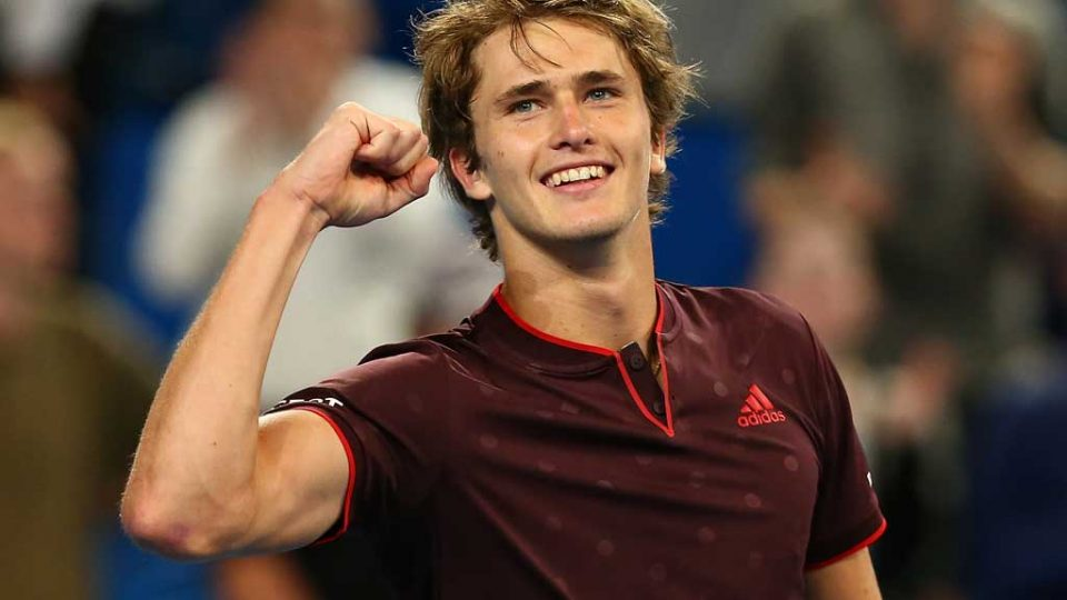 Will the next step in Alexander Zverev's sparkling career be a third title for Germany at Hopman Cup? Getty Images