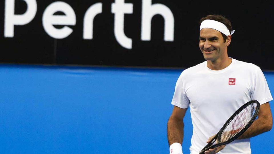 Roger Federer is relishing his fifth Mastercard Hopman Cup appearance; Getty Images