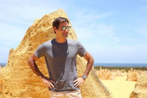Roger Federer loved his trip to The Pinnacles.