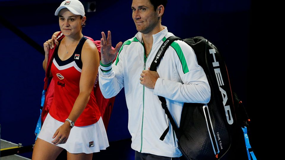 Ash Barty and Matt Ebden have a chance to send Australia into a fifth Mastercard Hopman Cup final; Getty Images