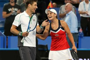 Matt Ebden and Ash Barty proudly represented Australia.