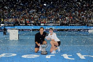 Roger Federer and Belinda Bencic claim a fourth title for Switzerland.