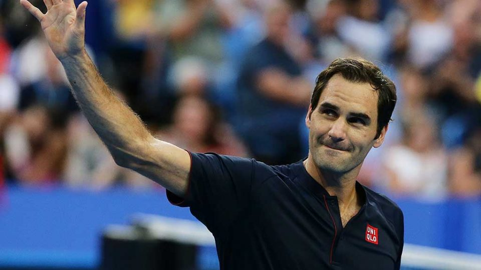 Roger Federer is a winner again at RAC Arena; Getty Images