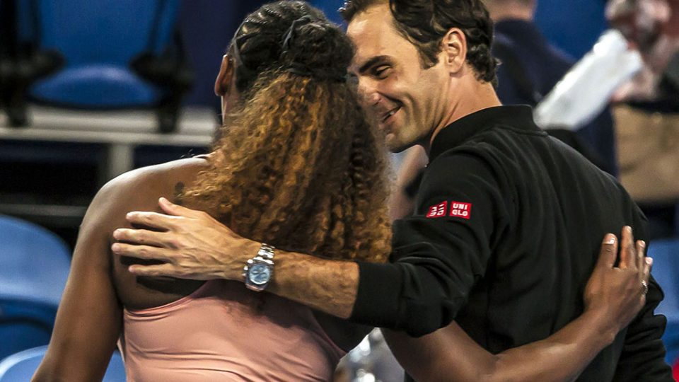 Serena Williams and Roger Federer will treasure the memories of a memorable match; Getty Images